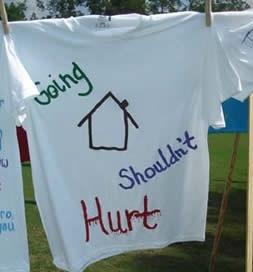 Oct Ritual Shirt Going Home Shouldn't Hurt Cropped