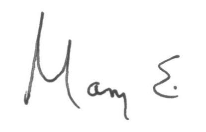 Mary Signature 2011